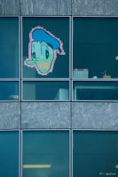 Post-it war - Donnald Duck