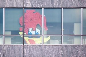 Post-it war - Woody Woodpecker