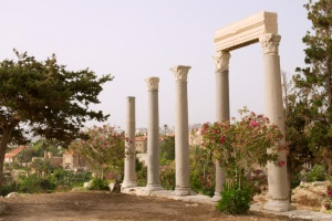 Byblos, Colonade Romaine